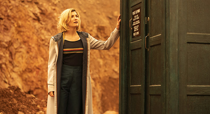 Jodie Whittaker as The Doctor - Doctor Who