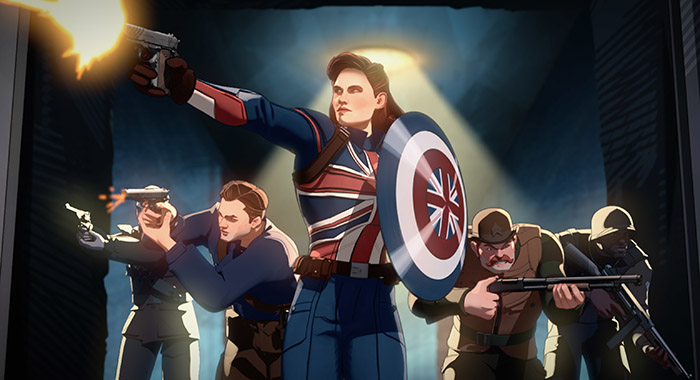 Captain Carter and the Howling Commandoes in What If...?
