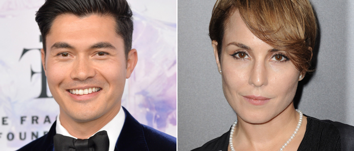 Henry Golding and Noomi Rapace