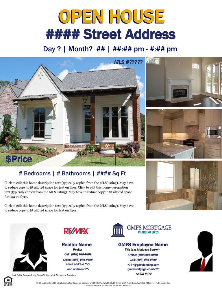 open house mortgage flyer templates - Etame.mibawa.co