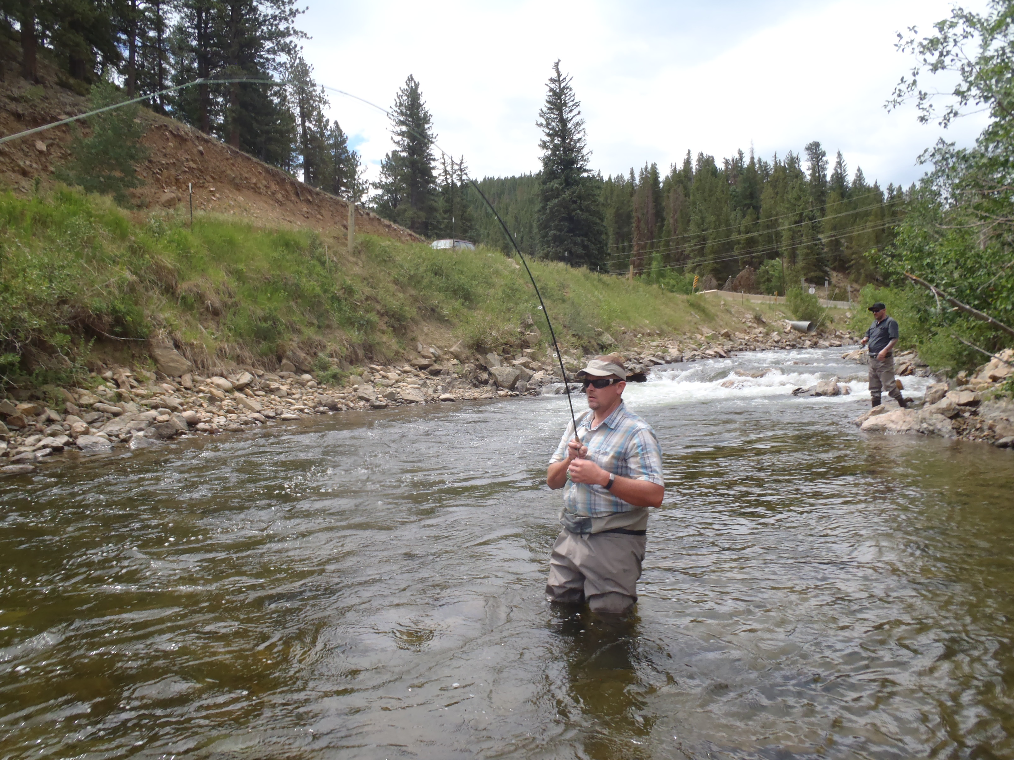 Colorado fly fishing reports guided fishing trip report for Colorado fly fishing reports