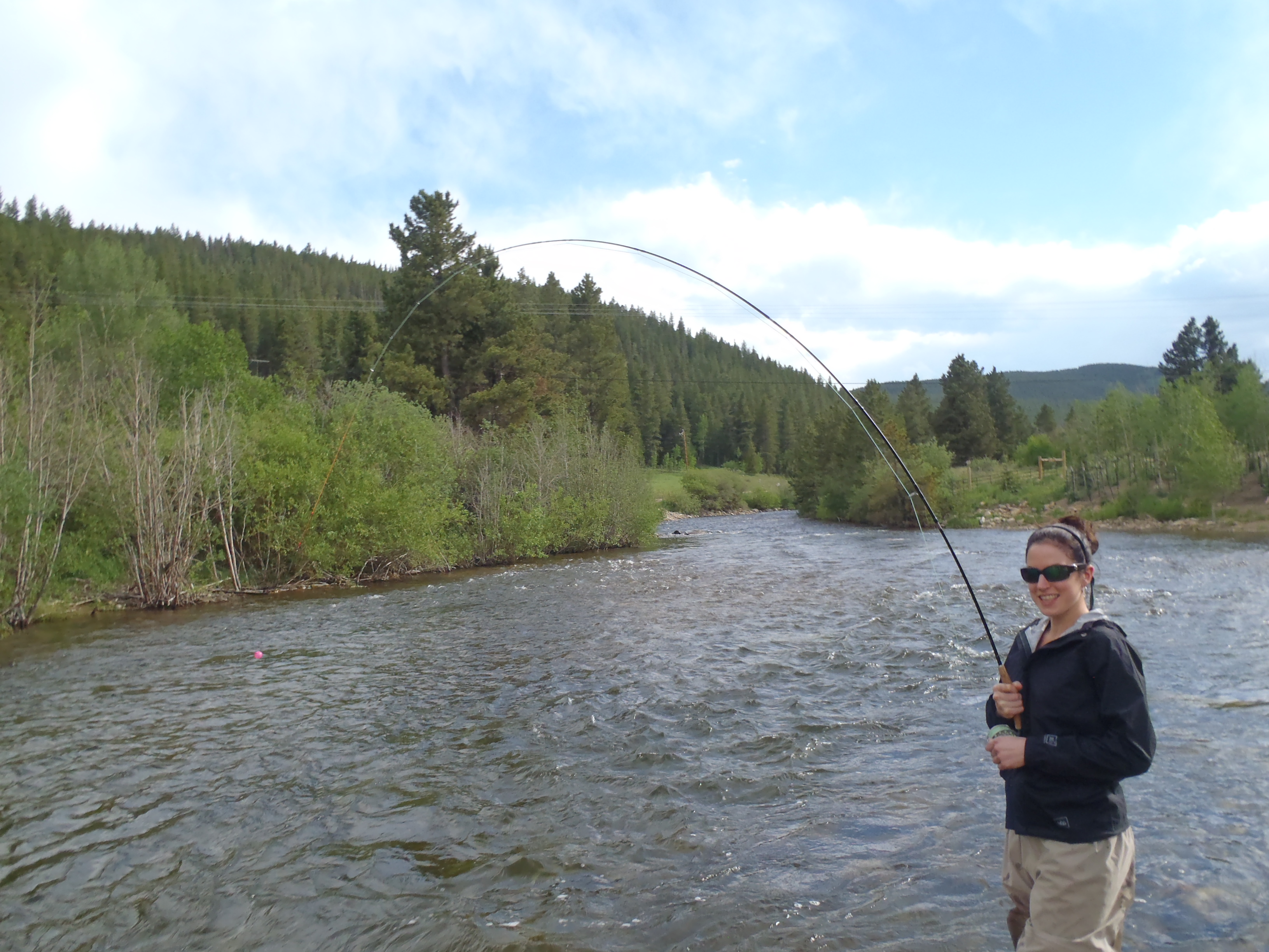 Lincoln hills member guided trip reports for Boulder fly fishing