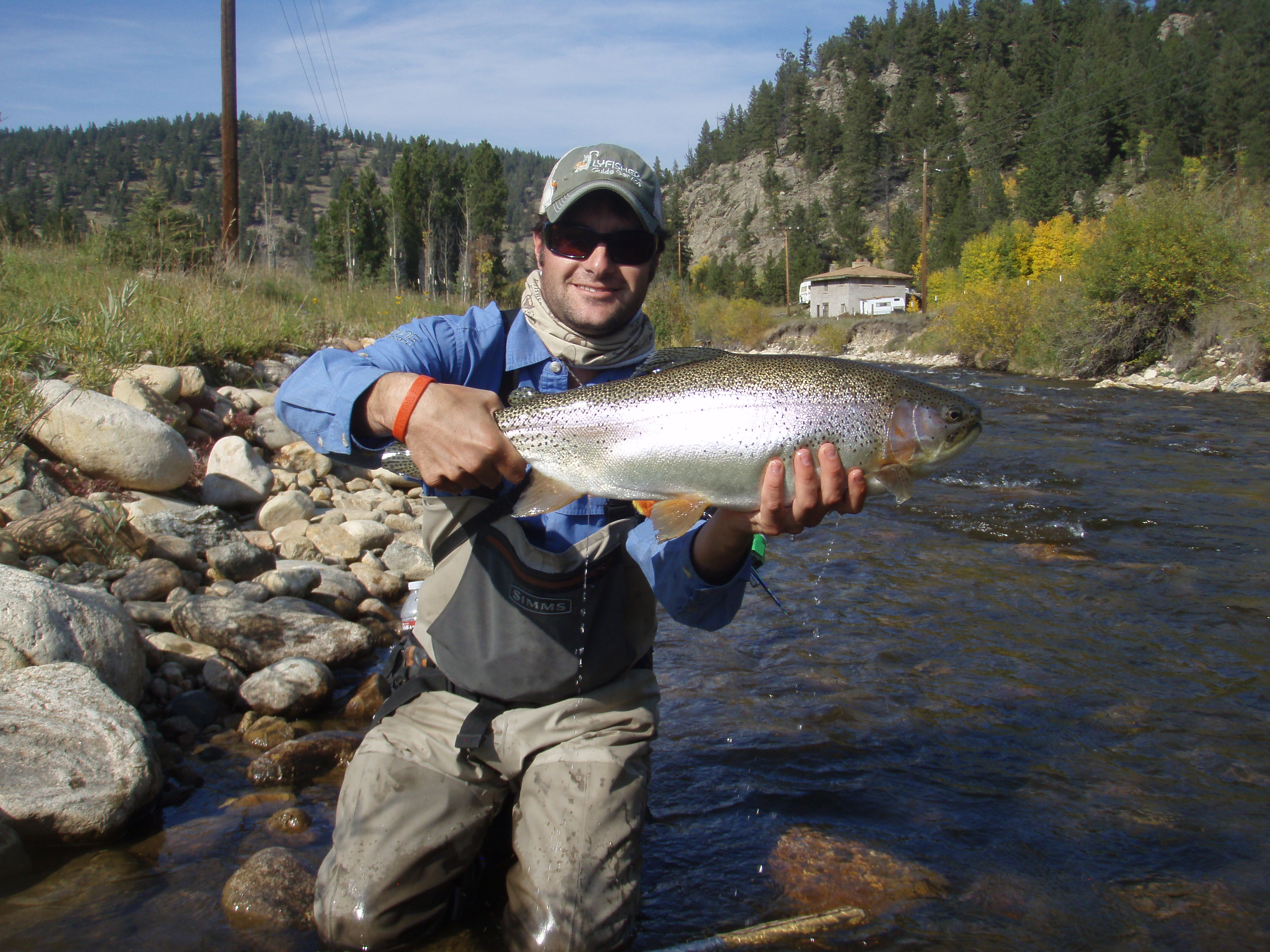 Colorado fly fishing reports guided fishing trip report for Current fishing report