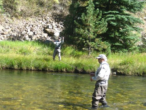 Colorado trout fisher report clear creek 09 15 2015 for Colorado fly fishing reports
