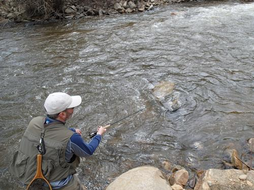 Colorado fly fishing reports lincoln hills trip report for Richard bowling fishing report