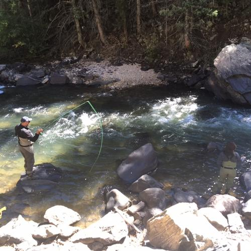 Colorado trout fisher report clear creek 09 25 2016 for Colorado fly fishing report