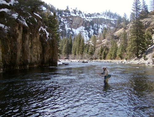 Blue river below green mountain fishing image 2 for Blue river fishing report