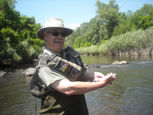 Colorado fly fishing lessons south platte in waterton for Waterton canyon fishing report