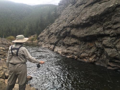 South Boulder Creek Colorado Trout Fishing