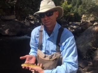 Boulder Creek Colorado Trout Fishing