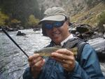Fly Fishing Photo 2 - Private Fishing Lesson Clear Creek, Sun 10/02/2011