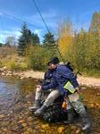Fly Fishing Photo 26 - Private Fishing Lesson Boulder River Ranch, Sat 10/05/2019