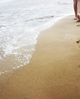 Footprints-lady