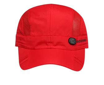 Running Cap with Ventilated Sides
