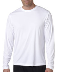Hanes Adult Cool DRI® with FreshIQ Long-Sleeve Performance T-Shirt 482L