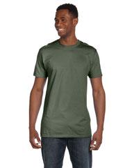 Hanes Unisex 4.5 oz., 100% Ringspun Cotton Nano-T® T-Shirt 4980