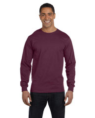 Hanes Adult 6.1 oz. Long-Sleeve Beefy-T® 5186