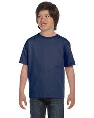 Hanes Youth 5.2 oz., Comfortsoft® Cotton T-Shirt 5480