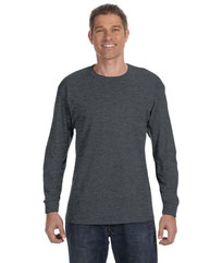 Hanes Adult 6 oz. Authentic-T Long-Sleeve T-Shirt 5586