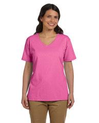 Hanes Ladies' 5.2 oz. Tagless® V-Neck T-Shirt 5780