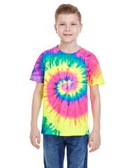 Tie-Dye Youth 5.4 oz. 100% Cotton T-Shirt CD100Y