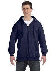 Hanes Adult 9.7 oz. Ultimate Cotton® 90/10 Full-Zip Hood F280