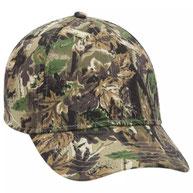 "Camouflage ""OTTO Flex"" 6 Panel Low Profile Baseball Cap"