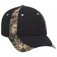 Camouflage 6 Panel Low Profile Baseball Cap