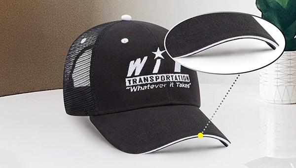Sandwich billed hat