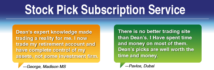 Stock Pick Subscription Service