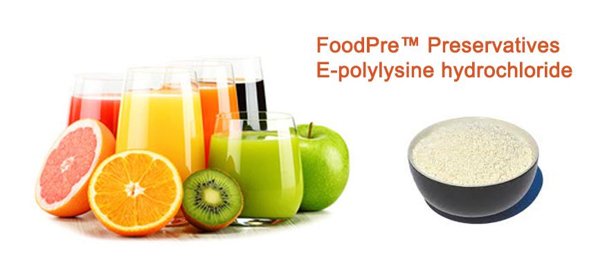 FoodPre™️ Preservatives - Ε-polylysine hydrochloride