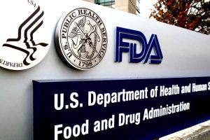 US Department of Health and Human Services, Food and Drug Administration Sign