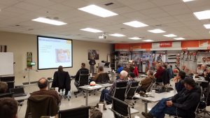 Landowners see presentation on chainsaw safety