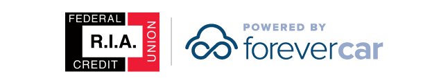 R.I.A Federal Credit Union Powered by ForeverCar Logo