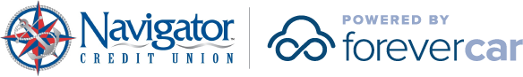 Navigator Credit Union Powered by ForeverCar Logo