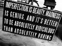 Imperfection and absolutely boring