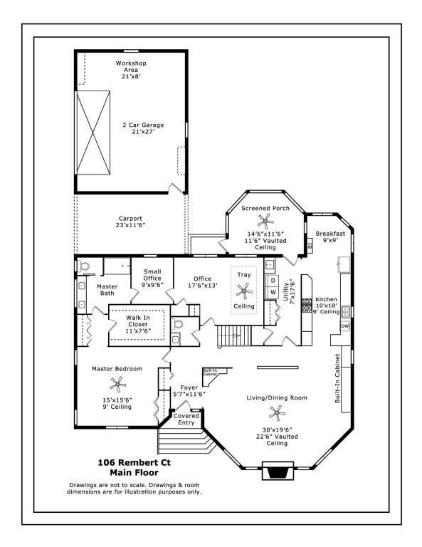 106 Rembert Court West End Nc 27376 Powered By Floorplanonline
