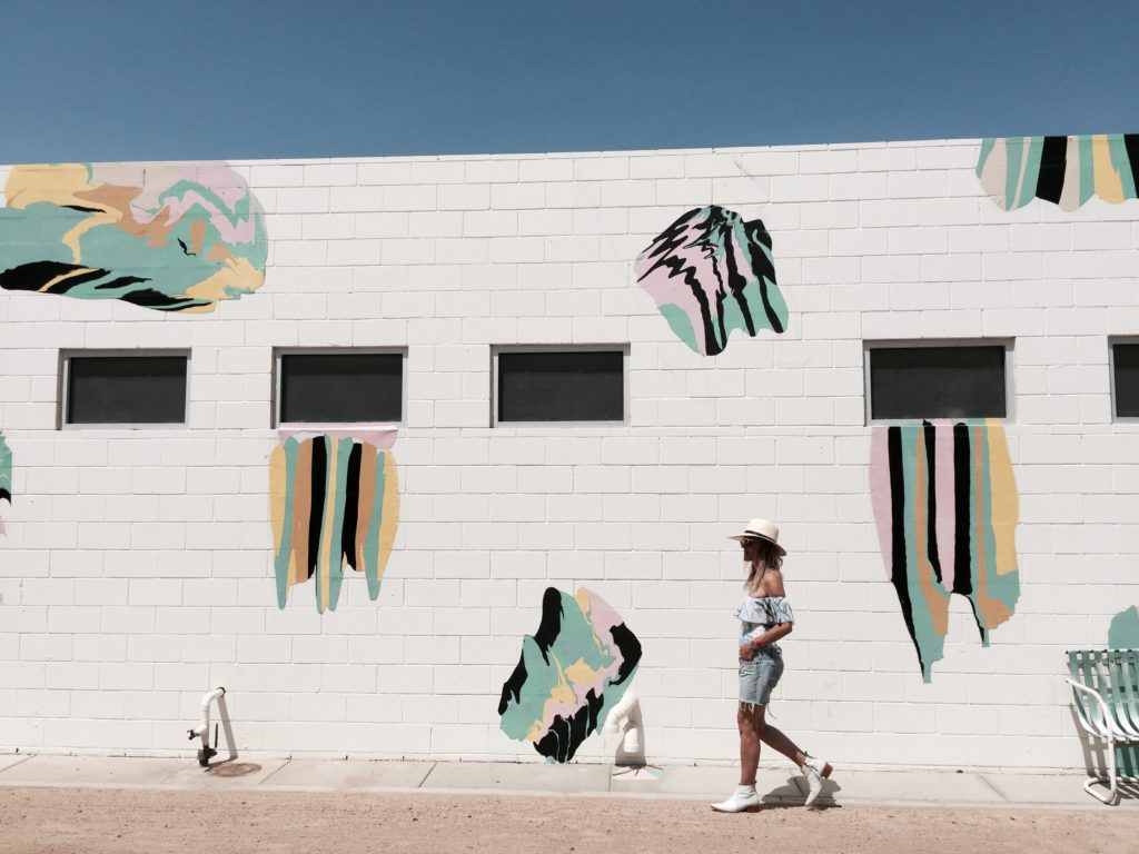 Co-Founder, Megan Papy at the Ace Palm Springs