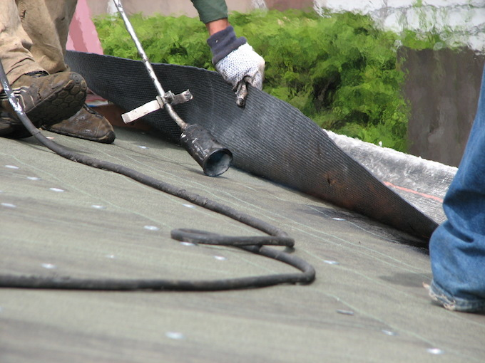 Torch-Down-Roofing