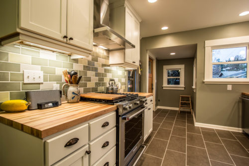 A North Portland kitchen remodel with a midrange budget