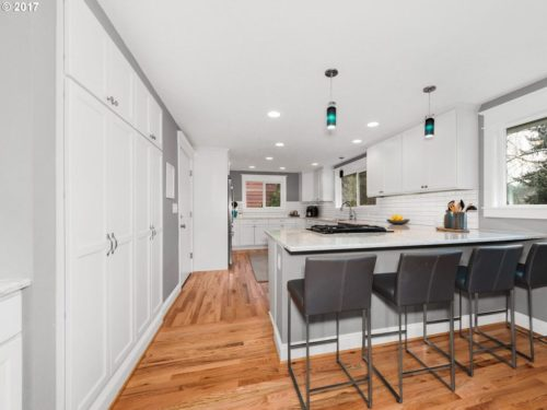 A SW Portland remodel with an upscale budget