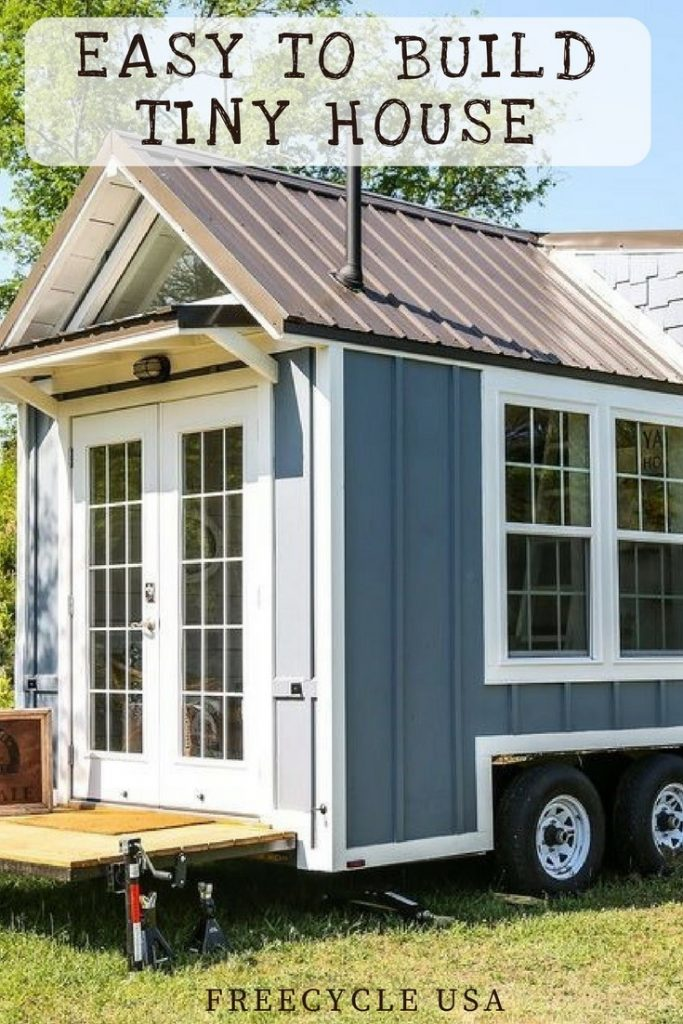 Easy to build little tiny house plans freecycle usa for Build my tiny house online