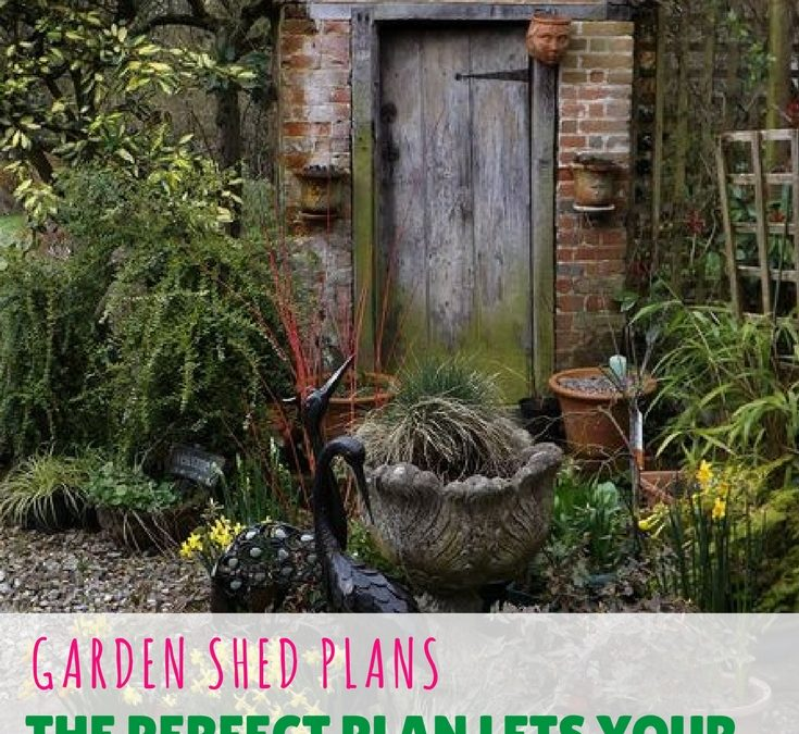 "Garden Shed Plans – A Perfect Plan Lets Your Shed ""BUILD ITSELF"""