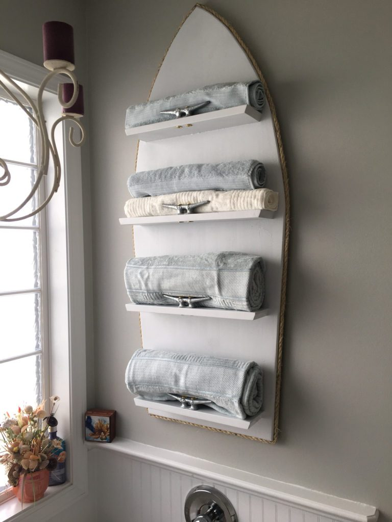 Diy Towel Rack Outdoor
