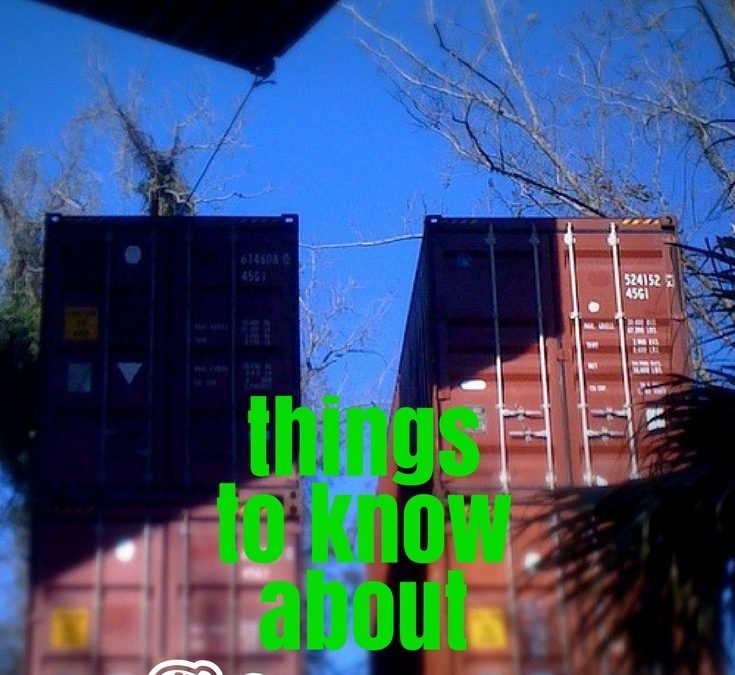 Must Know Facts Living Inside A Shipping Container Home