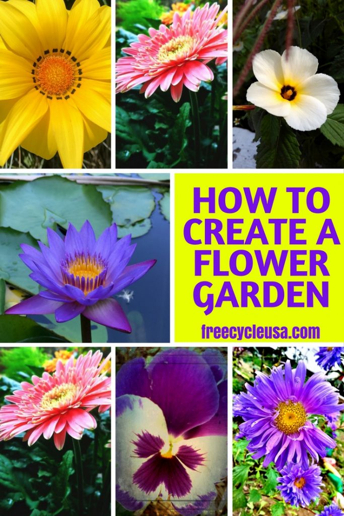 Here Are Some Practical Tips On How To Start Your Fascinating And Exciting  Adventure Of Setting Up A Colourful And Lively Flower Garden; From  Selecting A ...