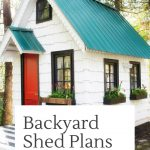 Purchase 8'x10′ Shed Plans and More!
