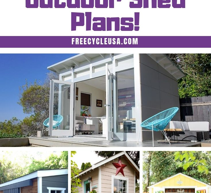 Sheds Designs: The Biggest Mistake to Avoid With Outdoor Shed Plans