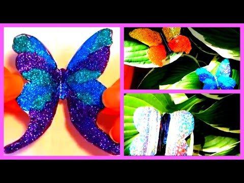 DIY Water Bottle Butterflies (Recycled Crafts)