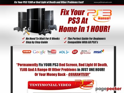 PS3 Repair Guide – Repair PS3 YLOD, Green Light, Red Light and the Red Screen Today!